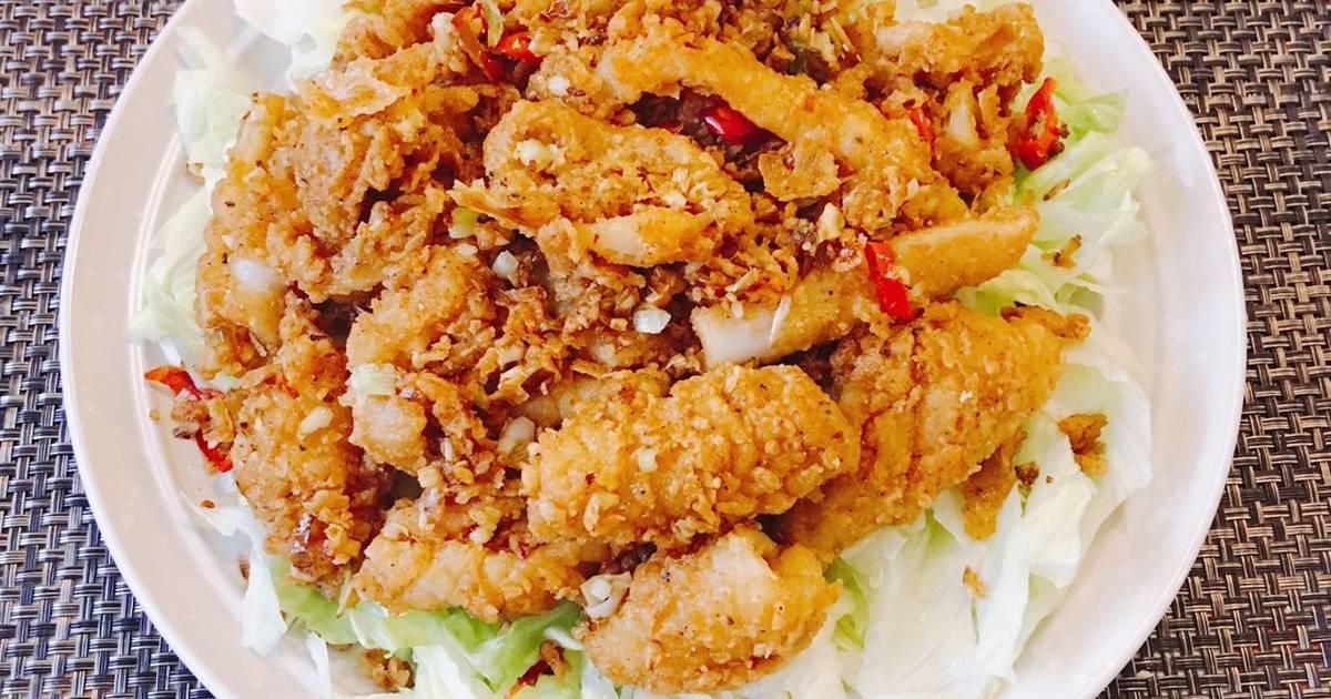 Mực Rang Muối (Salt&Pepper Squid) ??