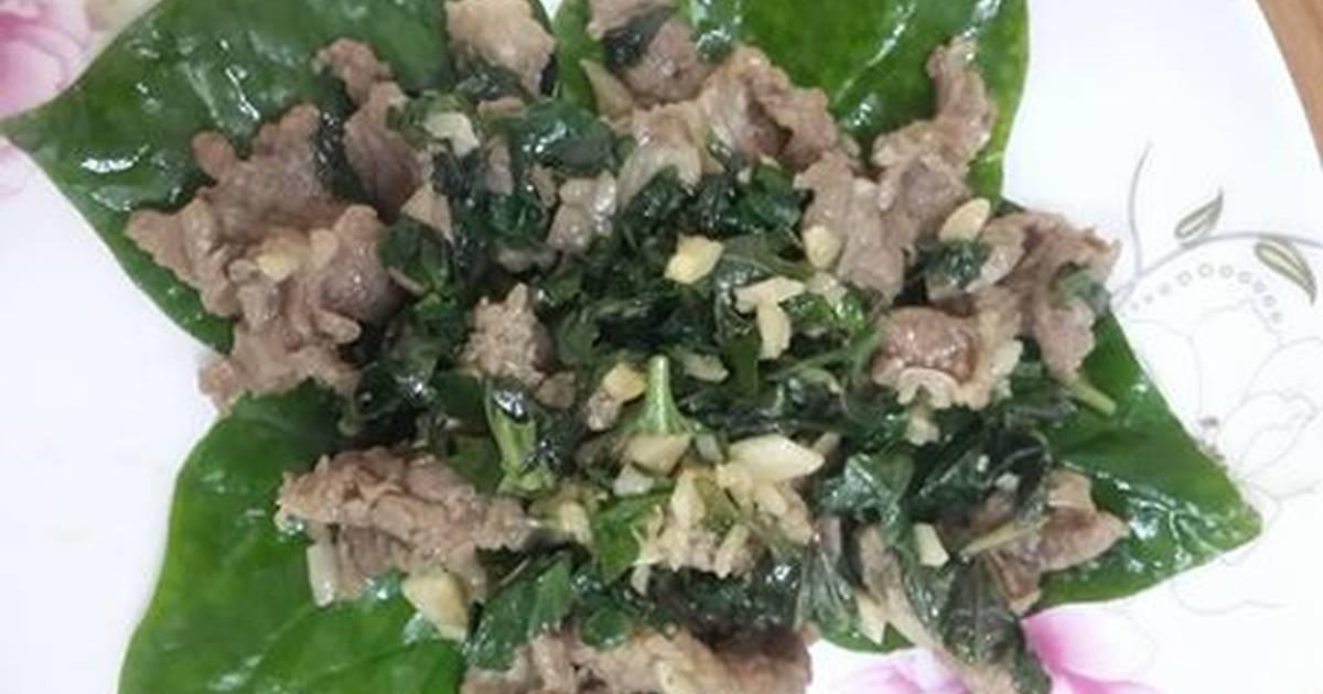 Thịt bò xào lá lốt