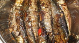 Hình ảnh món Cá trích nướng kho