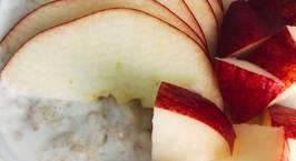 Hình ảnh món Eat clean- cháo yến mạch trái cây, bữa sáng nhanh gọn đủ chất