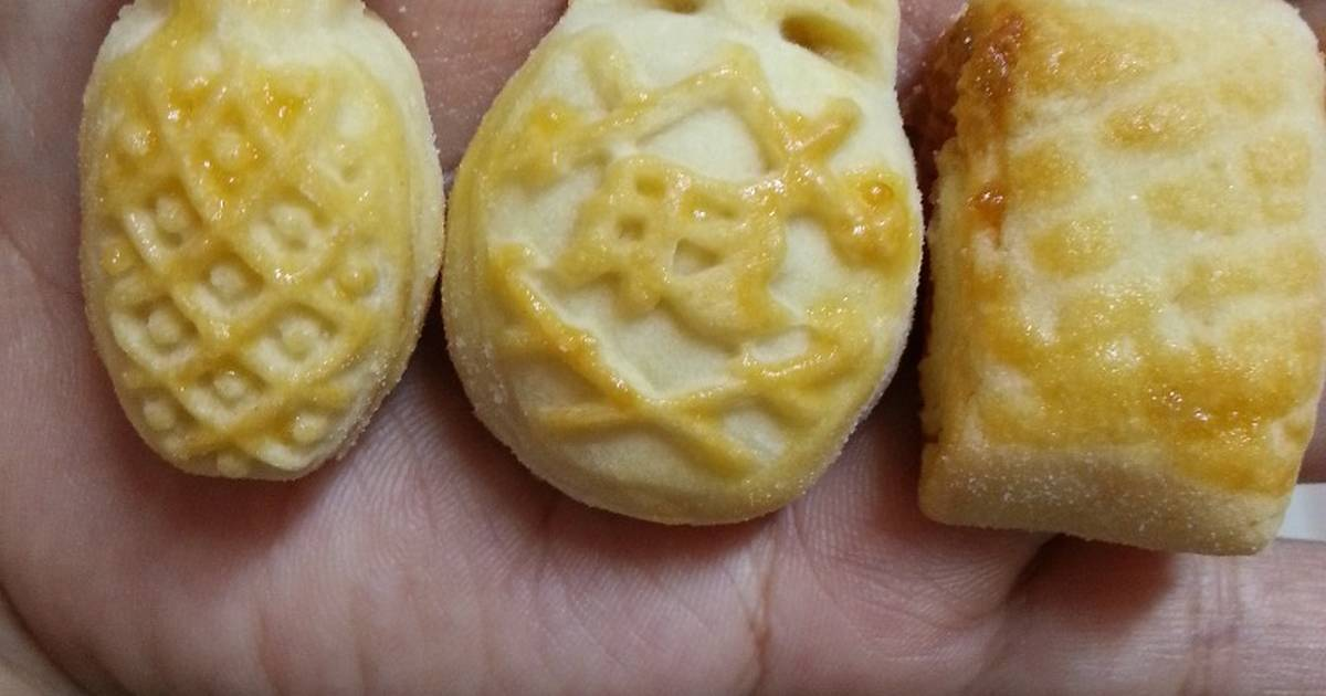Egg salt Pineapple Dough Shortcake - Bánh Dứa Đài Loan