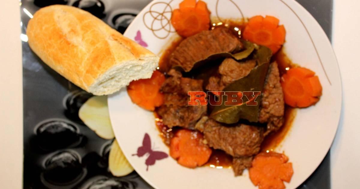 Bò Kho Sả không cần hoa hồi và bột bò kho