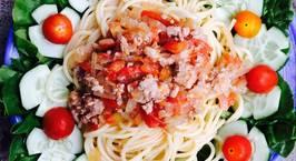 Hình ảnh món Mỳ spaghetti đãi gia đình cho buổi tối sum vầy!