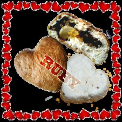 Bánh Bao Nướng/Hấp Valentine