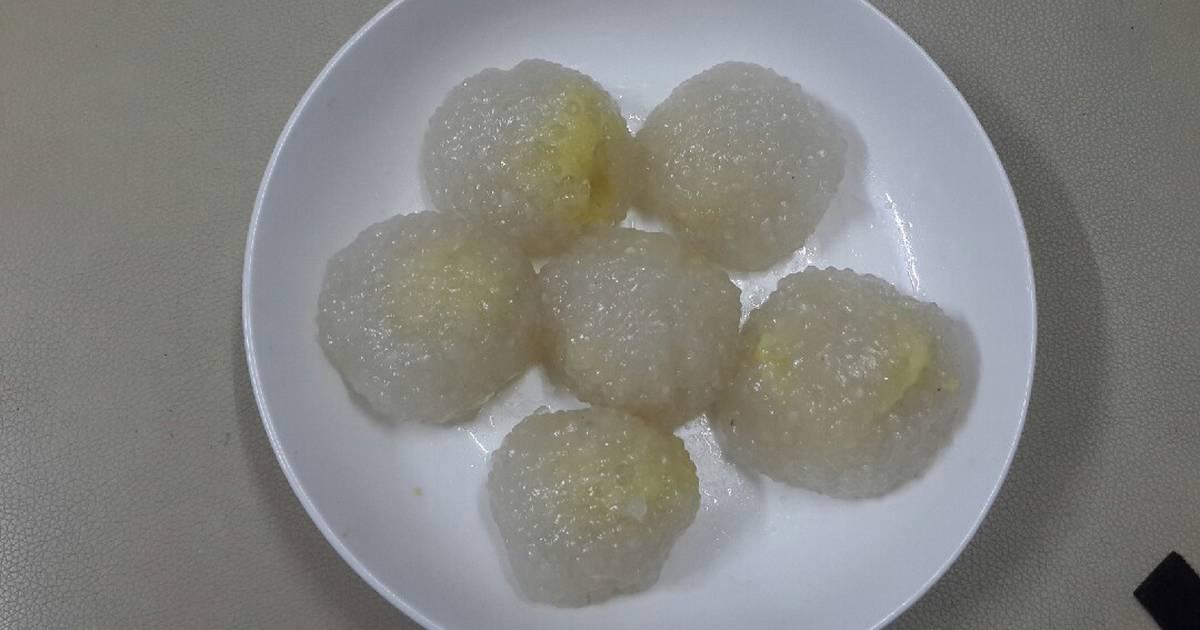 Chè bột báng đậu xanh nước dừa