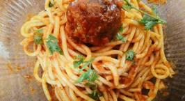 Hình ảnh món Spaghetti and Meatballs