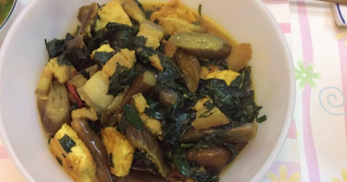 Cà tím bao tử nấu đậu