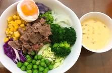 Salad bò ?