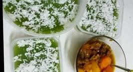 Hình ảnh món Thạch lá dứa cốt dừa