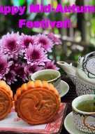 Bánh nướng nhân trà xanh trứng mặn
