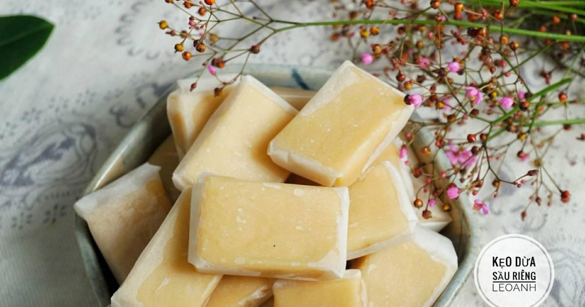 Kẹo dừa sầu riêng