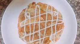 Hình ảnh món #okonomiyaki (bánh xèo nhật bản)
