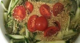 Hình ảnh món Canh dưa chuột lạnh (오이냉채)