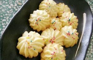 Danish Butter Cookies (bánh quy bơ kiểu Đan Mạch)