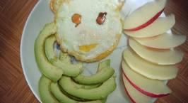 Hình ảnh món Bơ trứng táo - healthy breakfast