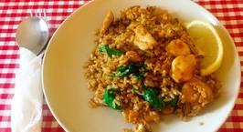 Hình ảnh món Thai Fried Rice (Cơm Rang Kiểu Thái)