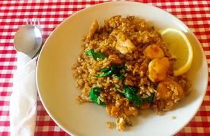 Thai Fried Rice (Cơm Rang Kiểu Thái)