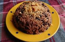 Xôi đỗ đen cốt dừa