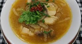 Hình ảnh món Bánh canh bột lọc nấu cá lóc