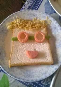 Bữa sáng nhanh gọn cho bé
