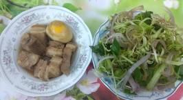 Hình ảnh món Thịt kho tàu - thịt kho hột vịt