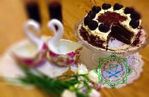 Microwave Black Forest Cake