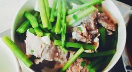 Hình ảnh món Canh sườn nấu măng tây
