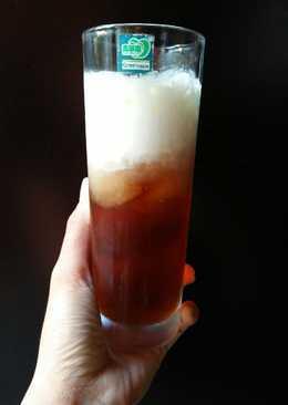 Hồng trà milk foam