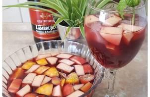 Sangria - cách pha rượu cocktail đỏ của Tây Ban Nha