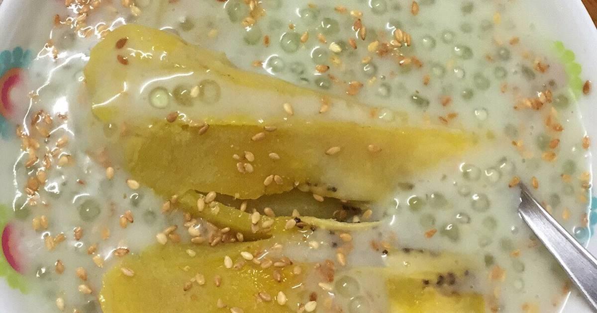 Chuối xào dừa