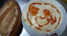 Hình ảnh món Trứng opla phô mai kéo sợi