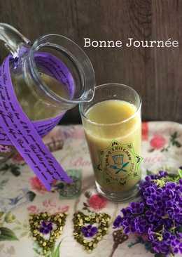 Sữa đậu xanh, khoai lang thơm mát, giải nhiệt ngày hè!