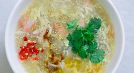 Hình ảnh món Súp cua bong bóng cá ngon tuyệt cú mèo ?