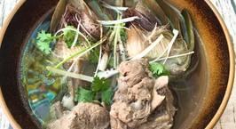 Hình ảnh món Hoa Atiso Hầm Xương Ống