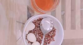 Hình ảnh món [Giảm Cân ] Cơm gạo lứt + trứng cút luộc + nước gạo lứt