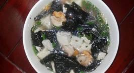 Hình ảnh món Canh rong biển, đậu hủ nấu tôm thanh mát bổ dưỡng ngày hè