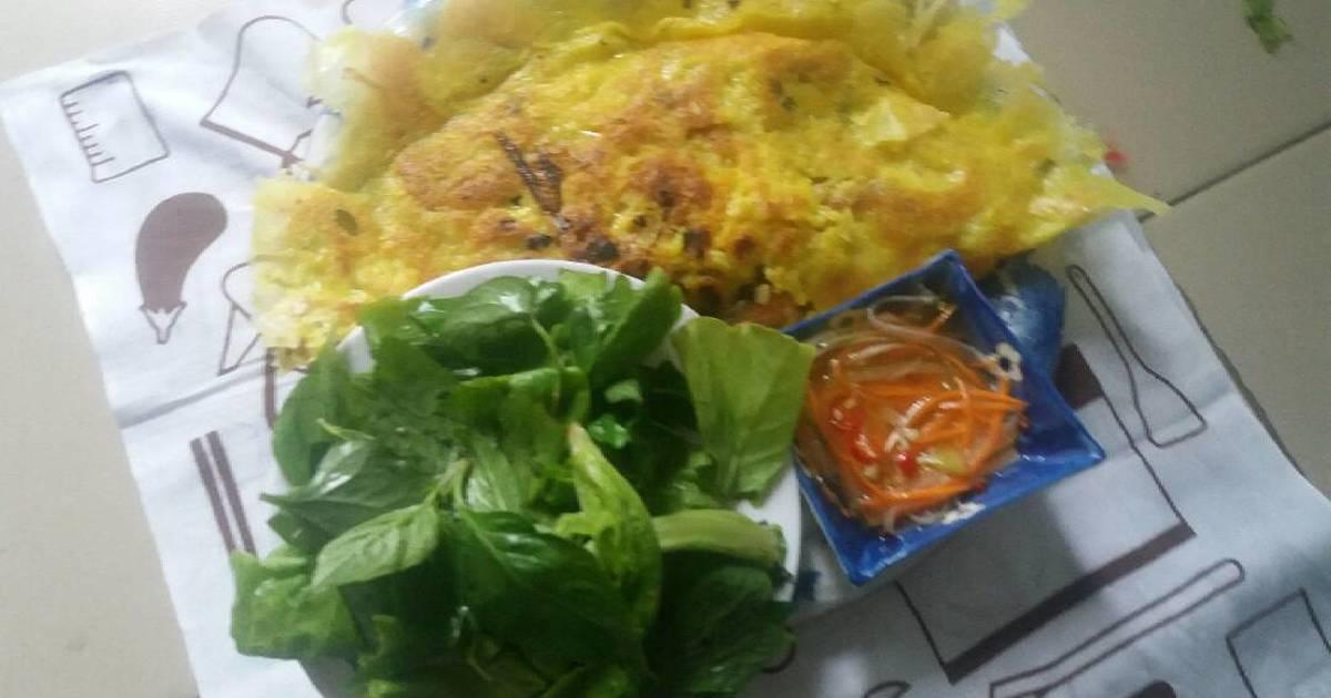 Bánh xèo hải sản Vũng Tàu