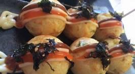 Hình ảnh món Bánh Takoyaki (hay còn gọi là Bánh bạch tuộc)