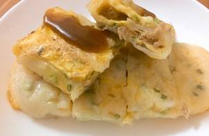 Bánh trứng cuộn Đài Loan - 蛋饼 - Dan bing