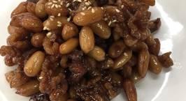 Hình ảnh món Đậu phộng quả óc chó kho(땅콩 호두조림)