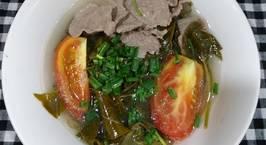 Hình ảnh món Canh thịt bò nấu lá giang