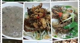 Hình ảnh món Miến Lươn (miến nước,miến trộn,cháo)