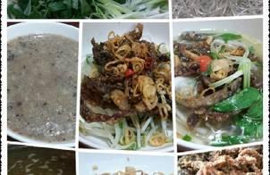 Miến Lươn (miến nước,miến trộn,cháo)
