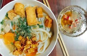 Bánh canh bột gạo Chay