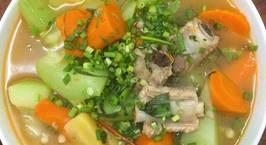 Hình ảnh món Canh sườn nấu su hào cà rốt