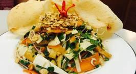 Hình ảnh món Gỏi củ hũ dừa và đậu hũ. Hiếm ai hay đây là món ăn thực dưỡng