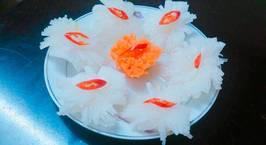 Hình ảnh món Hoa cúc củ cải muối chua ngọt