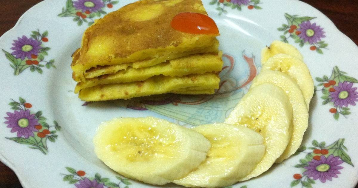 Pancake bí đỏ