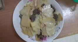 Hình ảnh món Măng tươi xào thịt bò