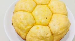 Hình ảnh món Bánh mì ngọt nướng bằng nồi cơm điện